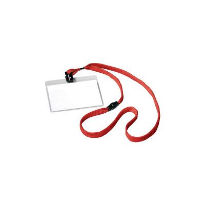 Identificador portanombres con cordón de seguridad Durable 8139-03