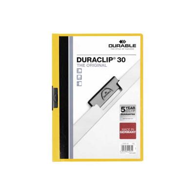 Dossier con clip metálico A4 60 hojas Durable Duraclip 220904