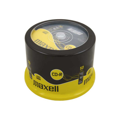 CD-R grabable 700Mb 80 minutos Maxell M185