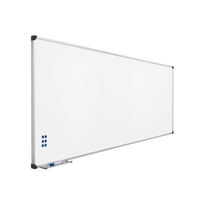 Pizarra blanca magnética acero vitrificado Planning Sisplamo 720/3