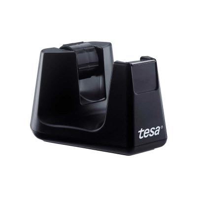 Portarrollos sobremesa negro para rollos de 33m Tesa Easy Cut Smart 53902-00000-00