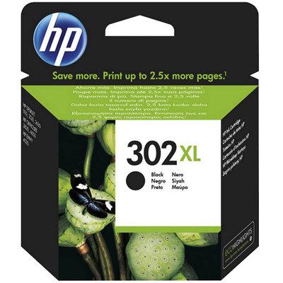 Cartucho inkjet HP 302XL de alta capacidad negro 480 páginas F6U68AE