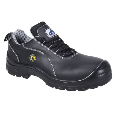 Zapato Portwest Compositelite ESD Leather Safety S1 FC02BKR44