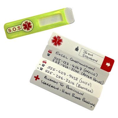 Identificación universal de emergencia ID11YER