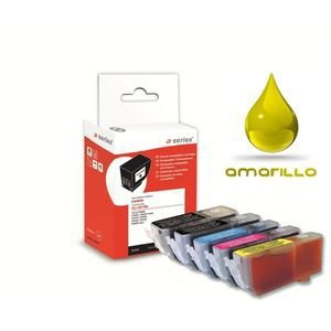 Inkjet compatible A-Series BROTHER LC1240/1280Y 18ml amarillo LC1240Y