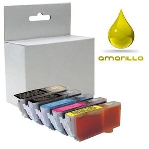 Inkjet compatible con Brother J6510DW amarillo LC1280XLYB