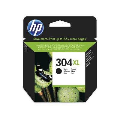 Cartucho inkjet HP 304XL de alta capacidad negro 300 páginas N9K08AE
