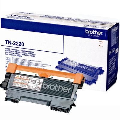 Tóner Brother TN-2220 Negro 2600 páginas TN2220