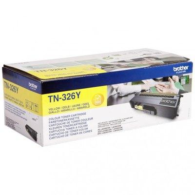 Tóner Brother TN-326 Amarillo 3500 páginas TN326Y