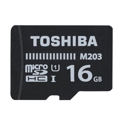 Micro Sd Toshiba 16gb M203 Uhs-i C10 R100 Con Adaptador THN-M203K0160EA
