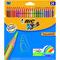 Lápices de colores hexagonales Bic Kids Tropicolors caja de 24