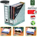 Revistero automático jaspeado Fellowes Bankers Box System 0186004