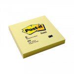 Bloc de notas adhesivas amarillo Post-it 654