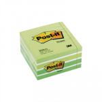 Cubo de notas adhesivas Post-it pastel verde