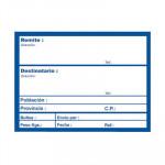 Etiqueta adhesiva preimpresa Apli envío 82x109mm
