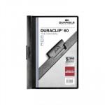 Dossier con clip metálico A4 60 hojas Durable Duraclip 220901