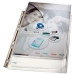 Funda catalogo multitaladro A4 PVC expansible Leitz