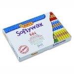 Lápices de cera de colores Jovi Softywax 144 colores surtidos