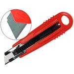 Cutter seguridad retráctil Q-Connect KF14624