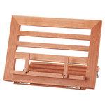 Atril sujetalibros madera