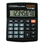 Calculadora de sobremesa 8 dígitos Citizen SDC-805BN