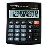 Calculadora de sobremesa 12 dígitos Citizen SDC-812BN