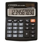 Calculadora de sobremesa Citizen 10 digitos SDC-810 BN