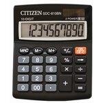Calculadora de sobremesa de 10 dígitos Citizen SDC-810 BN