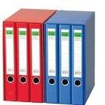 Módulo de 3 archivadores de palanca A4 Elba Rado Top azul