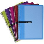 Cuaderno espiral tapa blanda 80 hojas Enri 100430028