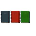 Agenda semana vista Myrga Lebanza 16,5x24cm verde