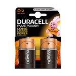 Pila alcalina Duracell Plus Power D