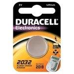 Pila alcalina de Botón Duracell Litio DL-2032