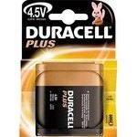 Pila alcalina Duracell Plus 4,5 v petaca