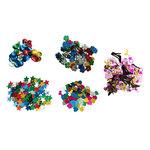 Lentejuelas de colores Fixo Kids 50g flor