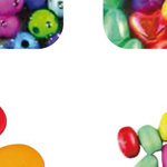 Abalorios de plástico y madera Fixo Kids 68004200