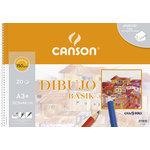 Bloc de dibujo Canson Basik Premium A3+ sin recuadro
