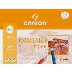 Papel dibujo minipack Canson Basik 200406346