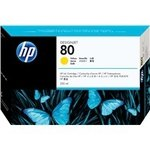 Cartucho inkjet HP 80 Amarillo 350 ml