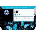 Cartucho inkjet HP 80 azul 350 ml
