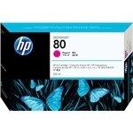 Cartucho inkjet HP 80 Magenta 350 ml