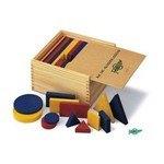 Conjunto de bloques lógicos de madera 145