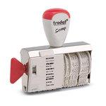 Formulario fechador manual Trodat 1117