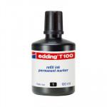 Tinta para rotulador Edding 100ml negro