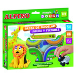 Kit pasta de modelar Alpino Magic Dough animales