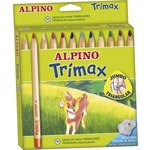 Lápices de colores Alpino Trimax