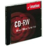 CD-RW regrabable 700Mb 80 minutos Imation