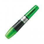 Rotulador fluorescente Stabilo Luminator verde