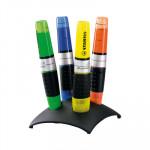 Rotulador fluorescente Stabilo Luminator Peana