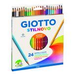 Lápices de colores Giotto Stilnovo caja de 12